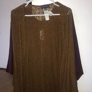 Sweaters - Forever 21 brown cardigan